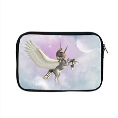 Cute Little Pegasus In The Sky, Cartoon Apple Macbook Pro 15  Zipper Case by FantasyWorld7