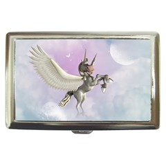 Cute Little Pegasus In The Sky, Cartoon Cigarette Money Case by FantasyWorld7