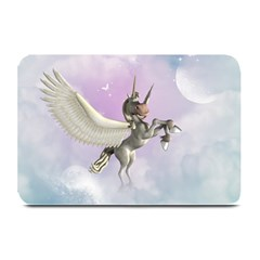 Cute Little Pegasus In The Sky, Cartoon Plate Mats by FantasyWorld7