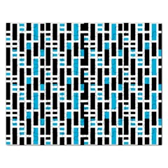 Linear Sequence Pattern Design Rectangular Jigsaw Puzzl