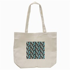 Linear Sequence Pattern Design Tote Bag (cream)
