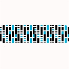 Linear Sequence Pattern Design Large Bar Mats by dflcprintsclothing