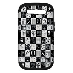 J 8 Samsung Galaxy S Iii Hardshell Case (pc+silicone) by ArtworkByPatrick1