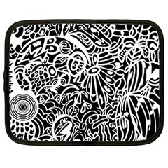 Maze Draw Netbook Case (large) by MRTACPANS