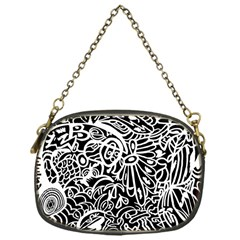 Maze Draw Chain Purse (one Side)