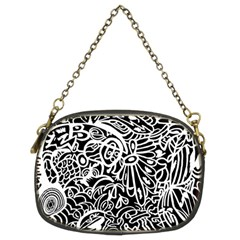 Maze Draw Chain Purse (two Sides)
