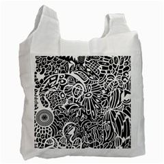 Maze Draw Recycle Bag (one Side)