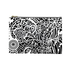 Maze Draw Cosmetic Bag (large) by MRTACPANS