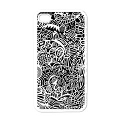 Maze Draw Apple Iphone 4 Case (white)