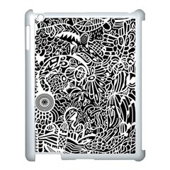 Maze Draw Apple Ipad 3/4 Case (white)