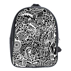 Maze Draw School Bag (xl)