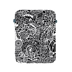 Maze Draw Apple Ipad 2/3/4 Protective Soft Cases