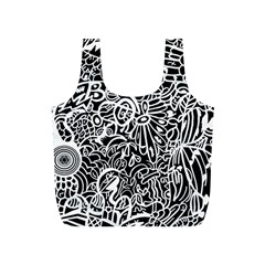 Maze Draw Full Print Recycle Bag (s)