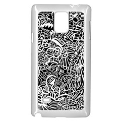Maze Draw Samsung Galaxy Note 4 Case (white)