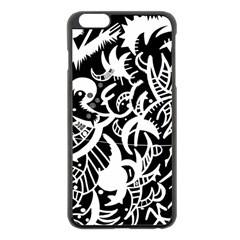 Scotch Love Apple Iphone 6 Plus/6s Plus Black Enamel Case by MRTACPANS
