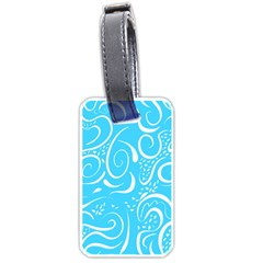 Scribble Reason Design Pattern Luggage Tags (one Side)  by Sapixe