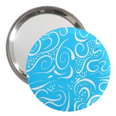 Scribble Reason Design Pattern 3  Handbag Mirrors