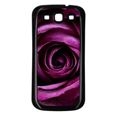 Plant Rose Flower Petals Nature Samsung Galaxy S3 Back Case (black) by Sapixe
