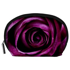 Plant Rose Flower Petals Nature Accessory Pouch (large) by Sapixe