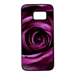Plant Rose Flower Petals Nature Samsung Galaxy S7 Black Seamless Case by Sapixe
