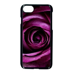 Plant Rose Flower Petals Nature Apple Iphone 8 Seamless Case (black) by Sapixe