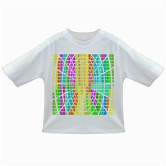 Abstract Squares Background Network Infant/toddler T Shirts