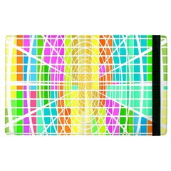 Abstract Squares Background Network Ipad Mini 4