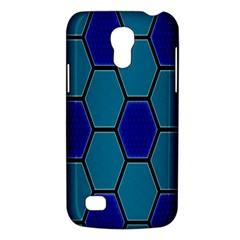 Hexagon Background Geometric Mosaic Samsung Galaxy S4 Mini (gt I9190) Hardshell Case  by Sapixe
