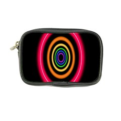 Neon Light Abstract Pattern Lines Coin Purse by Sapixe