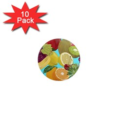 Fruit Picture Drawing Illustration 1  Mini Magnet (10 Pack)