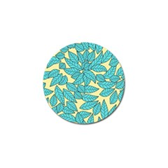 Leaves Dried Leaves Stamping Golf Ball Marker (4 Pack) by Sapixe