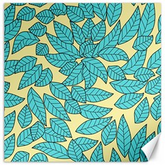Leaves Dried Leaves Stamping Canvas 12  X 12  by Sapixe