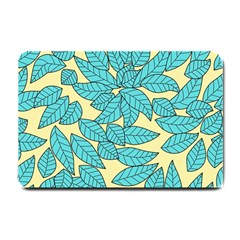 Leaves Dried Leaves Stamping Small Doormat  by Sapixe