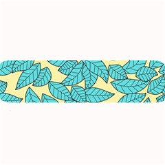 Leaves Dried Leaves Stamping Large Bar Mats by Sapixe