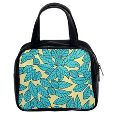 Leaves Dried Leaves Stamping Classic Handbag (two Sides) by Sapixe