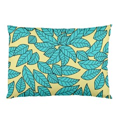 Leaves Dried Leaves Stamping Pillow Case by Sapixe