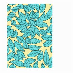 Leaves Dried Leaves Stamping Large Garden Flag (two Sides) by Sapixe