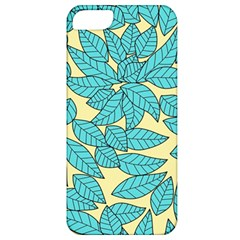 Leaves Dried Leaves Stamping Apple Iphone 5 Classic Hardshell Case