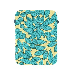 Leaves Dried Leaves Stamping Apple Ipad 2/3/4 Protective Soft Cases by Sapixe