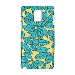 Leaves Dried Leaves Stamping Samsung Galaxy Note 4 Hardshell Case