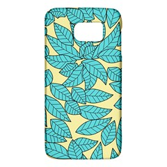 Leaves Dried Leaves Stamping Samsung Galaxy S6 Hardshell Case  by Sapixe