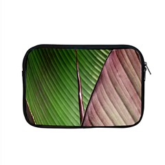 Leaf Banana Leaf Greenish Lines Apple Macbook Pro 15  Zipper Case