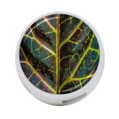 Leaf Abstract Nature Design Plant 4 Port Usb Hub (two Sides) by Sapixe
