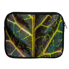 Leaf Abstract Nature Design Plant Apple Ipad 2/3/4 Zipper Cases