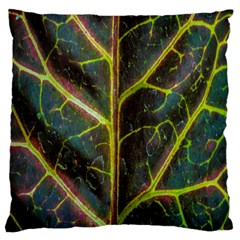 Leaf Abstract Nature Design Plant Standard Flano Cushion Case (two Sides) by Sapixe
