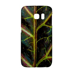 Leaf Abstract Nature Design Plant Samsung Galaxy S6 Edge Hardshell Case