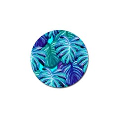 Leaves Tropical Palma Jungle Golf Ball Marker (4 Pack)