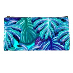 Leaves Tropical Palma Jungle Pencil Cases by Sapixe