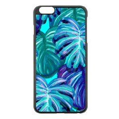Leaves Tropical Palma Jungle Apple Iphone 6 Plus/6s Plus Black Enamel Case by Sapixe
