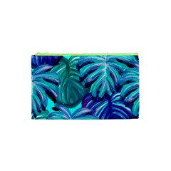 Leaves Tropical Palma Jungle Cosmetic Bag (xs) by Sapixe